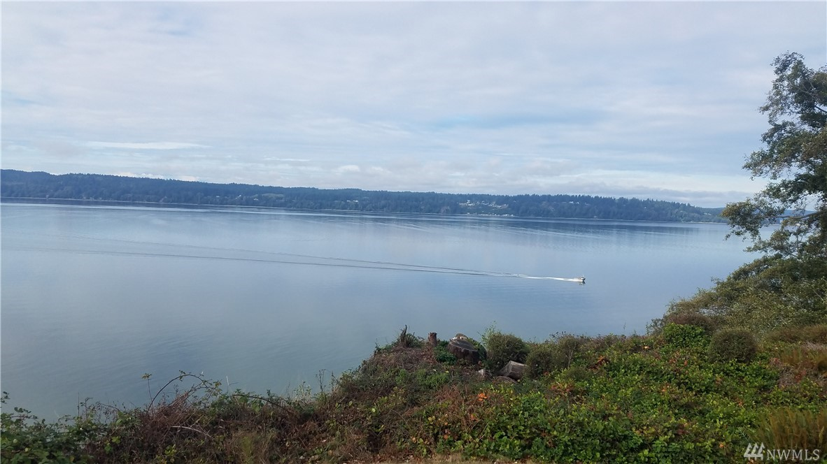 Great Bluff Home with South West View of Sound